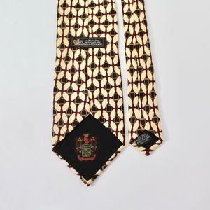 Paolo Gucci Equestrian Silk Tie, D10